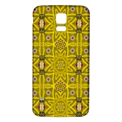 Stars And Flowers In The Forest Of Paradise Love Popart Samsung Galaxy S5 Back Case (White)
