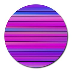 Cool Abstract Lines Round Mousepads