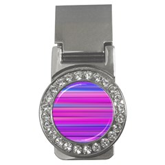Cool Abstract Lines Money Clips (cz)