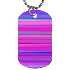 Cool Abstract Lines Dog Tag (Two Sides)