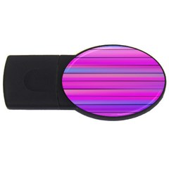 Cool Abstract Lines USB Flash Drive Oval (4 GB)