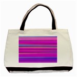 Cool Abstract Lines Basic Tote Bag Front