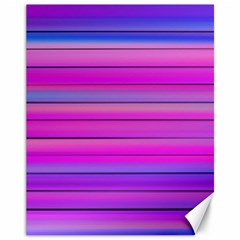 Cool Abstract Lines Canvas 11  x 14