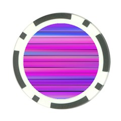 Cool Abstract Lines Poker Chip Card Guard