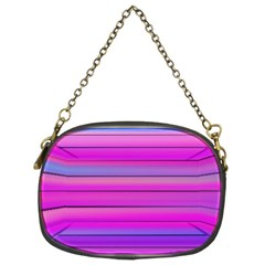 Cool Abstract Lines Chain Purses (two Sides)
