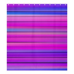 Cool Abstract Lines Shower Curtain 66  X 72  (large)