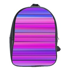 Cool Abstract Lines School Bags(Large)