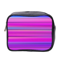 Cool Abstract Lines Mini Toiletries Bag 2-Side