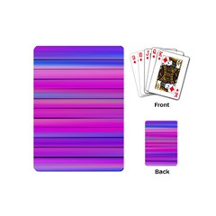 Cool Abstract Lines Playing Cards (mini)