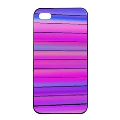 Cool Abstract Lines Apple Iphone 4/4s Seamless Case (black)
