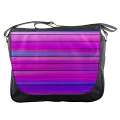 Cool Abstract Lines Messenger Bags