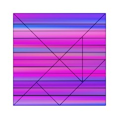 Cool Abstract Lines Acrylic Tangram Puzzle (6  X 6 )