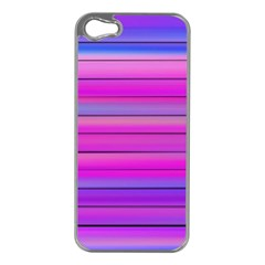 Cool Abstract Lines Apple Iphone 5 Case (silver)