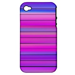 Cool Abstract Lines Apple Iphone 4/4s Hardshell Case (pc+silicone)