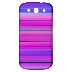 Cool Abstract Lines Samsung Galaxy S3 S Iii Classic Hardshell Back Case