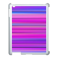 Cool Abstract Lines Apple iPad 3/4 Case (White)
