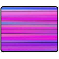 Cool Abstract Lines Double Sided Fleece Blanket (Medium)