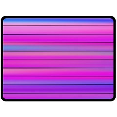 Cool Abstract Lines Double Sided Fleece Blanket (large)