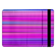 Cool Abstract Lines Samsung Galaxy Tab Pro 12 2  Flip Case