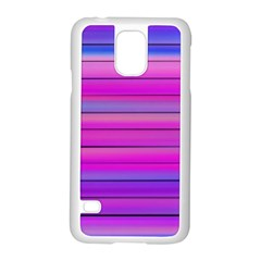 Cool Abstract Lines Samsung Galaxy S5 Case (White)