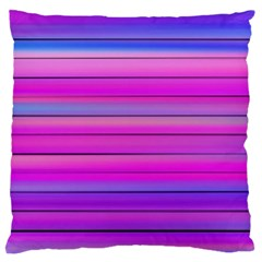 Cool Abstract Lines Large Flano Cushion Case (two Sides)