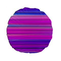 Cool Abstract Lines Standard 15  Premium Flano Round Cushions