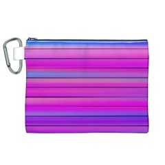 Cool Abstract Lines Canvas Cosmetic Bag (XL)