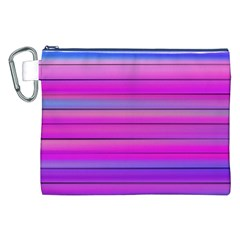 Cool Abstract Lines Canvas Cosmetic Bag (xxl)