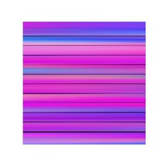 Cool Abstract Lines Small Satin Scarf (Square)