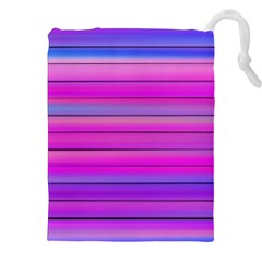 Cool Abstract Lines Drawstring Pouches (XXL)