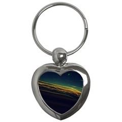 Night Lights Key Chains (Heart)
