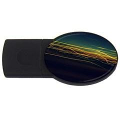 Night Lights USB Flash Drive Oval (1 GB)