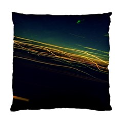 Night Lights Standard Cushion Case (two Sides)