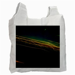Night Lights Recycle Bag (one Side)