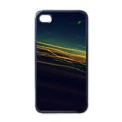 Night Lights Apple iPhone 4 Case (Black)