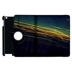 Night Lights Apple iPad 2 Flip 360 Case