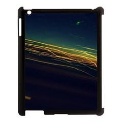 Night Lights Apple iPad 3/4 Case (Black)