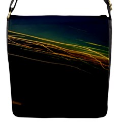 Night Lights Flap Messenger Bag (S)