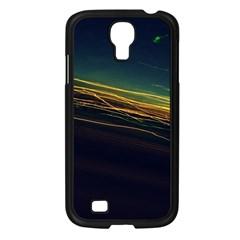 Night Lights Samsung Galaxy S4 I9500/ I9505 Case (Black)