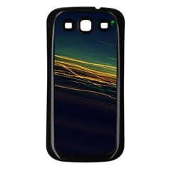 Night Lights Samsung Galaxy S3 Back Case (black)