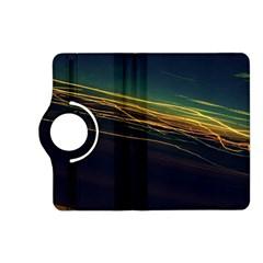 Night Lights Kindle Fire HD (2013) Flip 360 Case