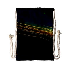 Night Lights Drawstring Bag (Small)