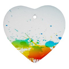 Colorful Abstract Ornament (heart)