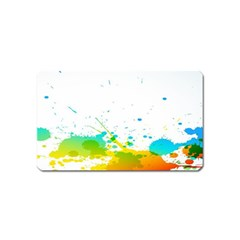 Colorful Abstract Magnet (Name Card)