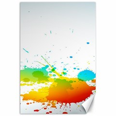 Colorful Abstract Canvas 20  x 30