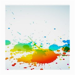 Colorful Abstract Medium Glasses Cloth