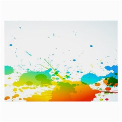 Colorful Abstract Large Glasses Cloth (2-Side)
