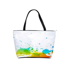 Colorful Abstract Shoulder Handbags