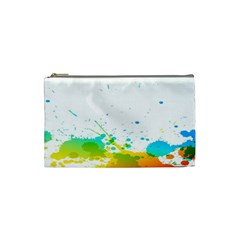 Colorful Abstract Cosmetic Bag (small)