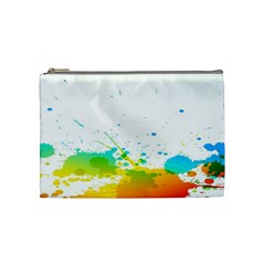 Colorful Abstract Cosmetic Bag (medium)